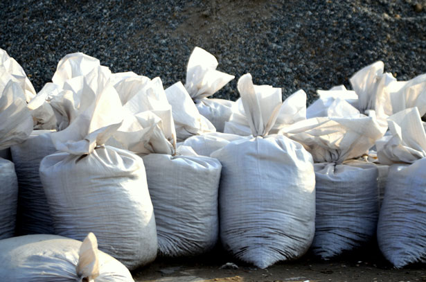 sand-bags