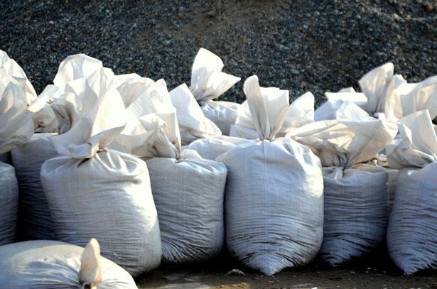 sand-bags